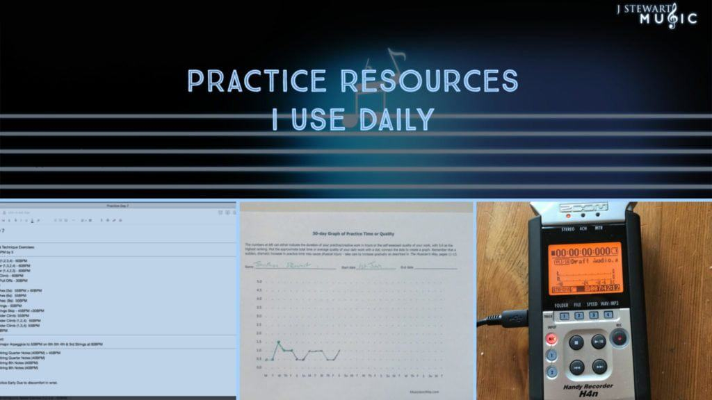 What Practice Resources I Use In My Daily Practice Session